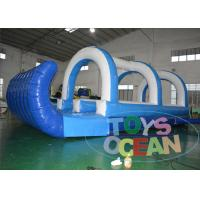 China Large Funny City Inflatable Slip N Slide Commercial Grade 0.55mm PVC Tarpaulin wholesale