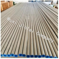 ASTM A789 S31803 S32205 0.3mm 3mm Hot Rolled Seamless Steel Pipe