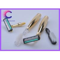 China Golden color handle Travel Shave Brush , shaving razor and tooth brush Amenity Sets wholesale
