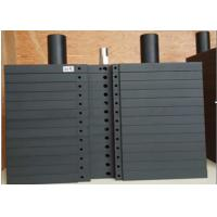 Painting Steel Gym Equipment Weight Plates Black Color For Commercial Clubs