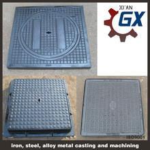 China ductile cast iron square manhole cover wholesale