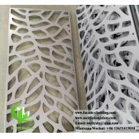 China Customized Laser Cut Aluminum Panels For Facade Cladding Fence Roofing wholesale