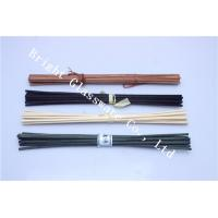 China custom glass perfume bottle and colored reed diffuser sticks wholesale