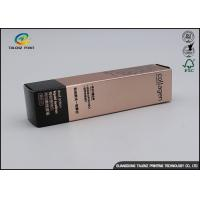 China Custom Eyeliner Gift Box Packaging With Insert Tray / Cosmetic Paper Box wholesale