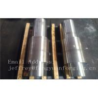 Quality JIS EN ASTM DIN BS AS Carbon Steel Forged Shaft Rough Machined For Power Plant for sale
