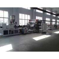 China PVC PP PE Board Twin Screw Extruder , Automatic Plastic Extruder wholesale