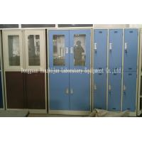 China Lockable Corrosive Storage Cabinets With Doors / DTC Hinges Acid Resistance on sale