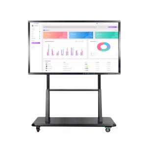 China 10 Points Touch 55 4K Smart Board Interactive Flat Panel on sale