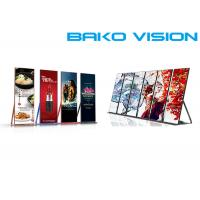 China Slim / Lightweight Front Service LED Display Standing Poster LED Screen 1000 Nits wholesale