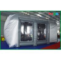 China Waterproof Cutomized Inflatable Air Tent / PVC Inflatable Spray Booth For Car Paint Spraying on sale