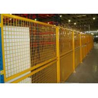 China Indoor Warehouse Safety Fences , Security Steel Fencing 1.5-3m Width wholesale