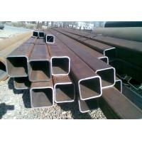 ERW Galvanised Steel Hollow Square Metal Tubing Low Carbon Q345B Grade