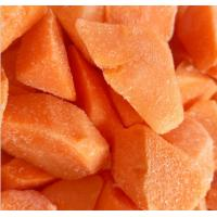 China Vitamins Contained Frozen Processed Food , Freezing Fresh Carrots IQF Technology wholesale