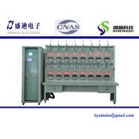 China 16 Positions Three Phase Electric Electricity Energy Meter Test Bench,0.05% accuracy class,Max.120A current output on sale