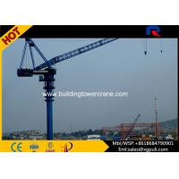 China 380V/50Hz Power Luffing Boom Tower Crane , Luffing Jib Crane 2.0t Tip Load wholesale