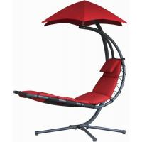 China Durable Other Furniture Single Fabric Swing Chair With Canopy , Hanging Patio Chair With Stand wholesale