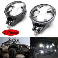 China 60W CREE LED Work Light Round White Fog Light For Jeep Wrangler Off Road 4X4 wholesale