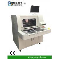 Buy cheap Off - line top CNC PCB Router with rotary and sliding table / dual boxes from wholesalers
