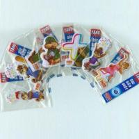 China Puffy Stickers with Soft Transparent PVC, Available in Various Sizes and Designs wholesale