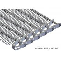 China Stainless Steel 316 Wire Mesh Belt Spiral Wire Conveyor U-Style Chain Drive wholesale
