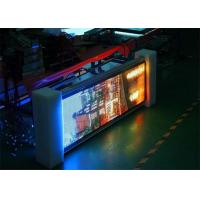 SMD 3535 6mm Large Led Advertising Display , Waterproof Led Video Screen Ultra Thin
