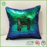 "China Square 16"" x 16"" Reversible Sequins Sparkly Mermaid Throw Pillows wholesale"