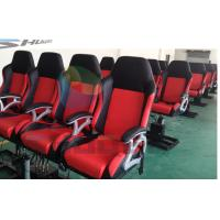 China Cheapest cinema seat in China, Dynamic Cinema Seat Motion Theater Chair With Push Back, Electric Shock wholesale