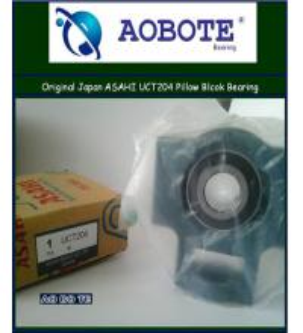 China ASAHI UCT204 Machine Tool Bearings Gcr15 , Open Double ABEC-3 and High Speed wholesale