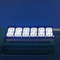 China Ultra white 10mm Six digit 14 segment led display common anode for Instrument panel wholesale