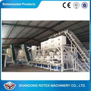 China CE Certificated 1-1.5Ton/h Ring Die Pellet Machine / Wood Pellet Mill wholesale