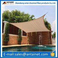 Quality hdpe outdoor sun shade sails green dark any color HDPE material  from China Antai factory for sale