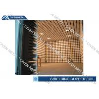 China EMI / EMC Copper Shielding Foil / CCL FPC thin copper sheet wholesale