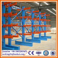 Buy cheap Warehouse Heavy Duty Adjustable Cantilever Rack / cantilever racking system from wholesalers