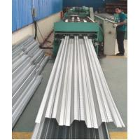 China Galvanized Corrugated Steel Roofing Sheets / Floor Deck For Muti - Floor Buildings wholesale