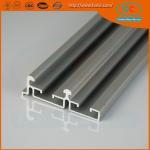 Aluminum sliding track profile for window and doors, sling window profile