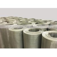 China Stainless Steel  Wire Screen Mesh Plain Weave Acid Alkali Rust Resistance No Surface Treatment wholesale