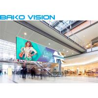 China High Resolution Indoor Led Advertising Screen Media Rental / Fixed LED Display wholesale