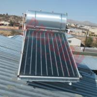 Buy cheap Compact Pressure Anode Oxidation Solar Panel Hot Water System For Heating Water from wholesalers