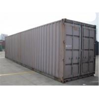 China 40gp Steel Dry Used Metal Shipping Containers 28000kg Payload wholesale