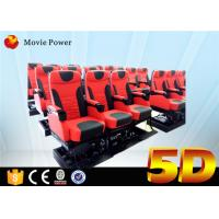 Buy cheap Theme Park 5D Movie Theater 3dof Platform Electric Or Hydraulic Supply from wholesalers