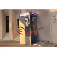 Buy cheap Green Banking Financial Ticket Vending Machine Computer Cash Payment Kiosk Stand from wholesalers