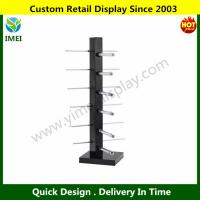 China Topro Sunglasses Rack Holder Glasses Frame Display Stand Color Black YM6-093 wholesale