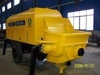 China trailer concrete pump-output capacity 60~90m3/h on sale
