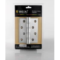Quality Yellow Door Accessory Hardware Bi Fold Gate Hinges 8 Fixing Screws Easy Installation for sale