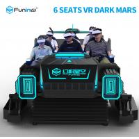 China Sheet Metal Material 9D VR Simulator For Kids In Supermaket 3KW on sale
