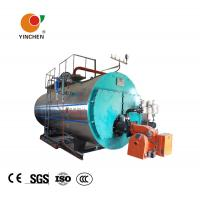 China Low Pressure Steam Boiler 0.3-20 Tons / Horizontal Three Pass Fire Tube Boiler wholesale