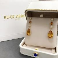 China 18K Yellow Gold  Serpent Boheme Earrings With Topaz Crystals And Diamonds wholesale