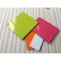 Quality Anti - Static PVDF Aluminum Composite Panel Products , Aluminium Coated Panels for sale