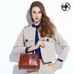 2019 famous designer custom leather sling bag fashion printed leather bag red