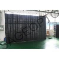 Quality High Definition P8.9 Advertising LED Curtain Screen as Window Transparent for sale